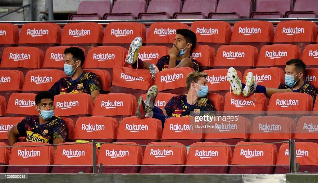FC Barcelona v CA Osasuna  - La Liga : News Photo