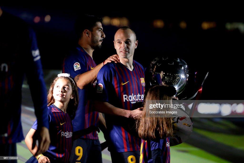 FC Barcelona v Real Sociedad - La Liga Santander : Photo d'actualité