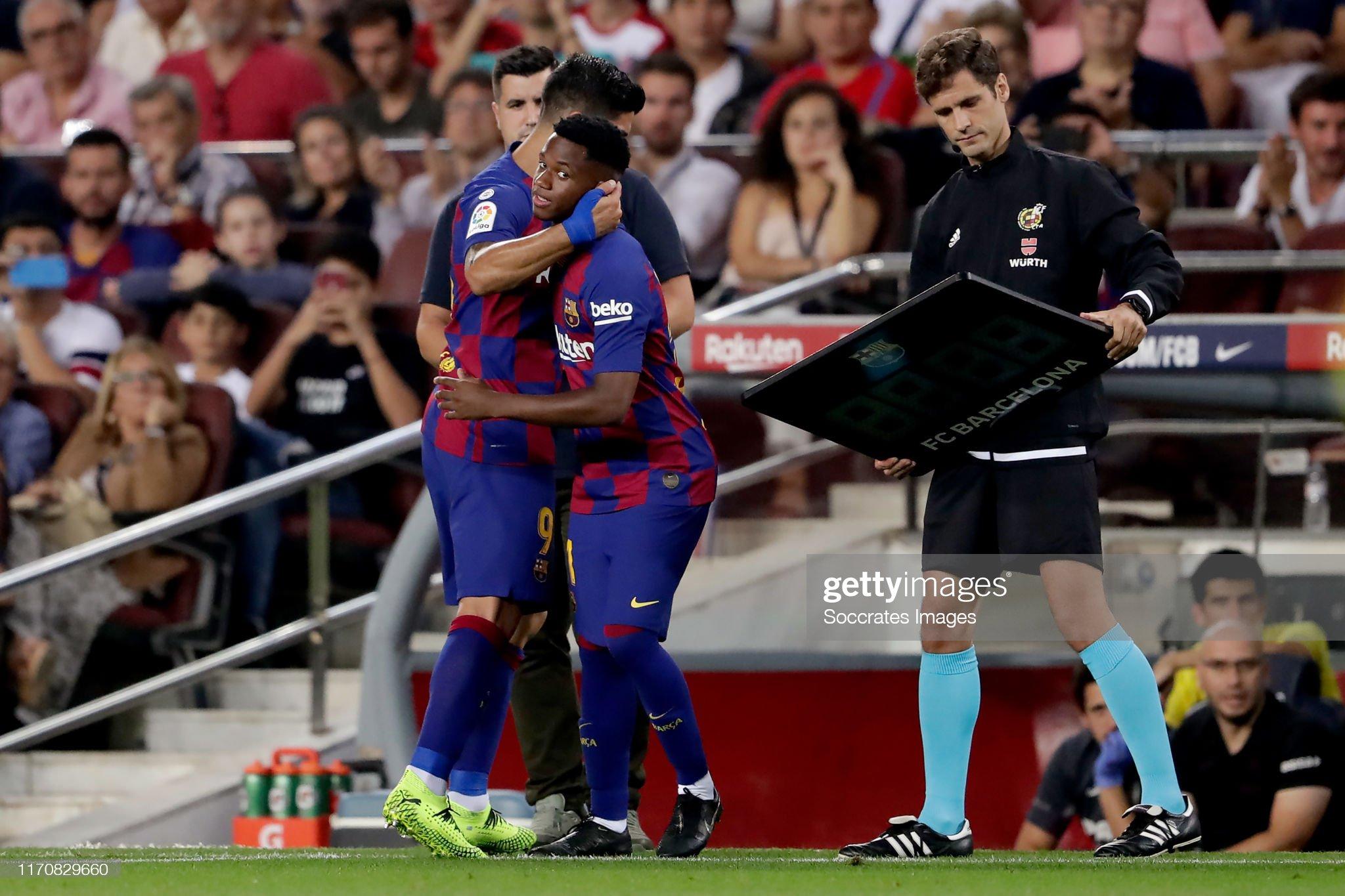 صور مباراة : برشلونة - فياريال 2-1 ( 24-09-2019 )  Luis-suarez-of-fc-barcelona-ansu-fati-of-fc-barcelona-during-the-la-picture-id1170829660?s=2048x2048