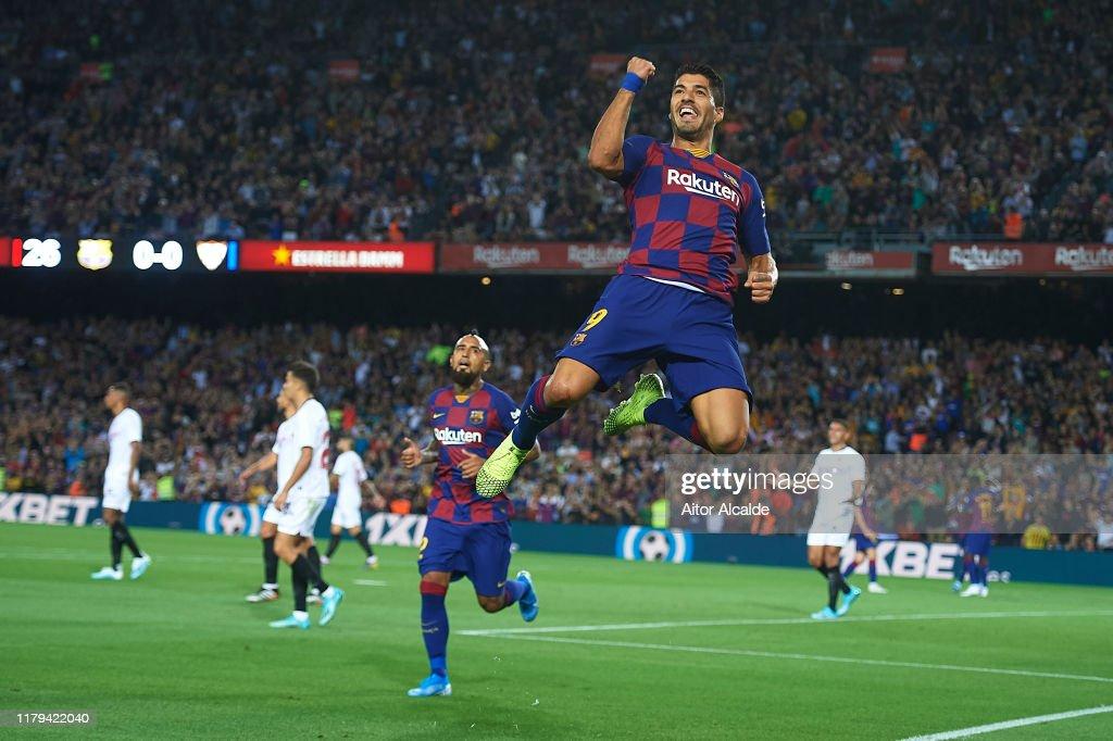 FC Barcelona v Sevilla FC  - La Liga : ニュース写真