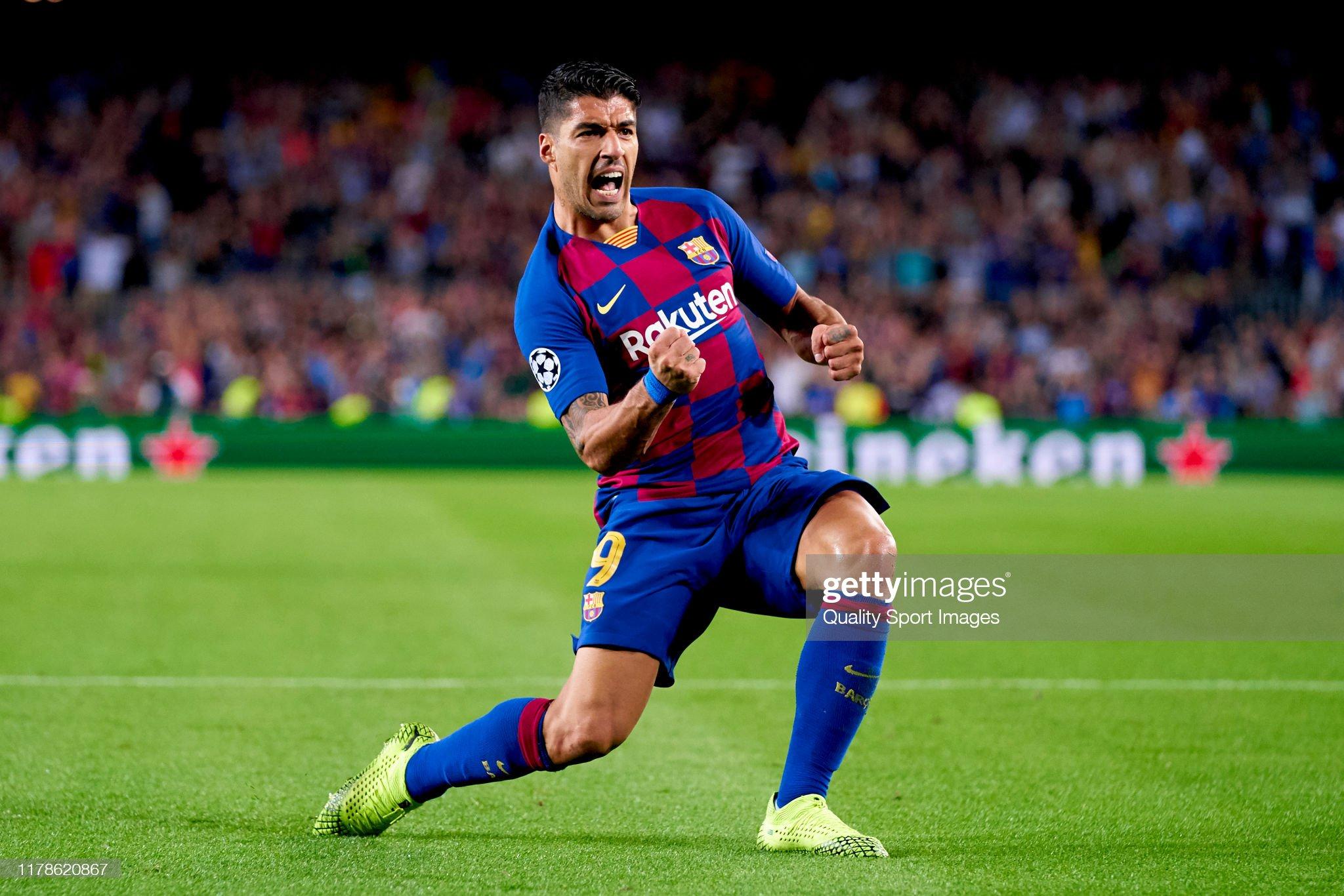صور مباراة : برشلونة - إنتر 2-1 ( 02-10-2019 )  Luis-suarez-of-fc-barcelona-celebrates-after-scoring-his-teams-first-picture-id1178620867?s=2048x2048