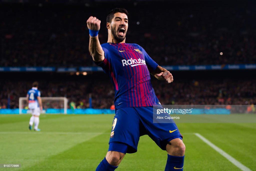 Barcelona v Espanyol - Spanish Copa del Rey : News Photo