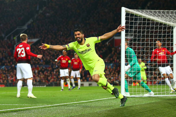 GBR: Manchester United v FC Barcelona - UEFA Champions League Quarter Final: First Leg