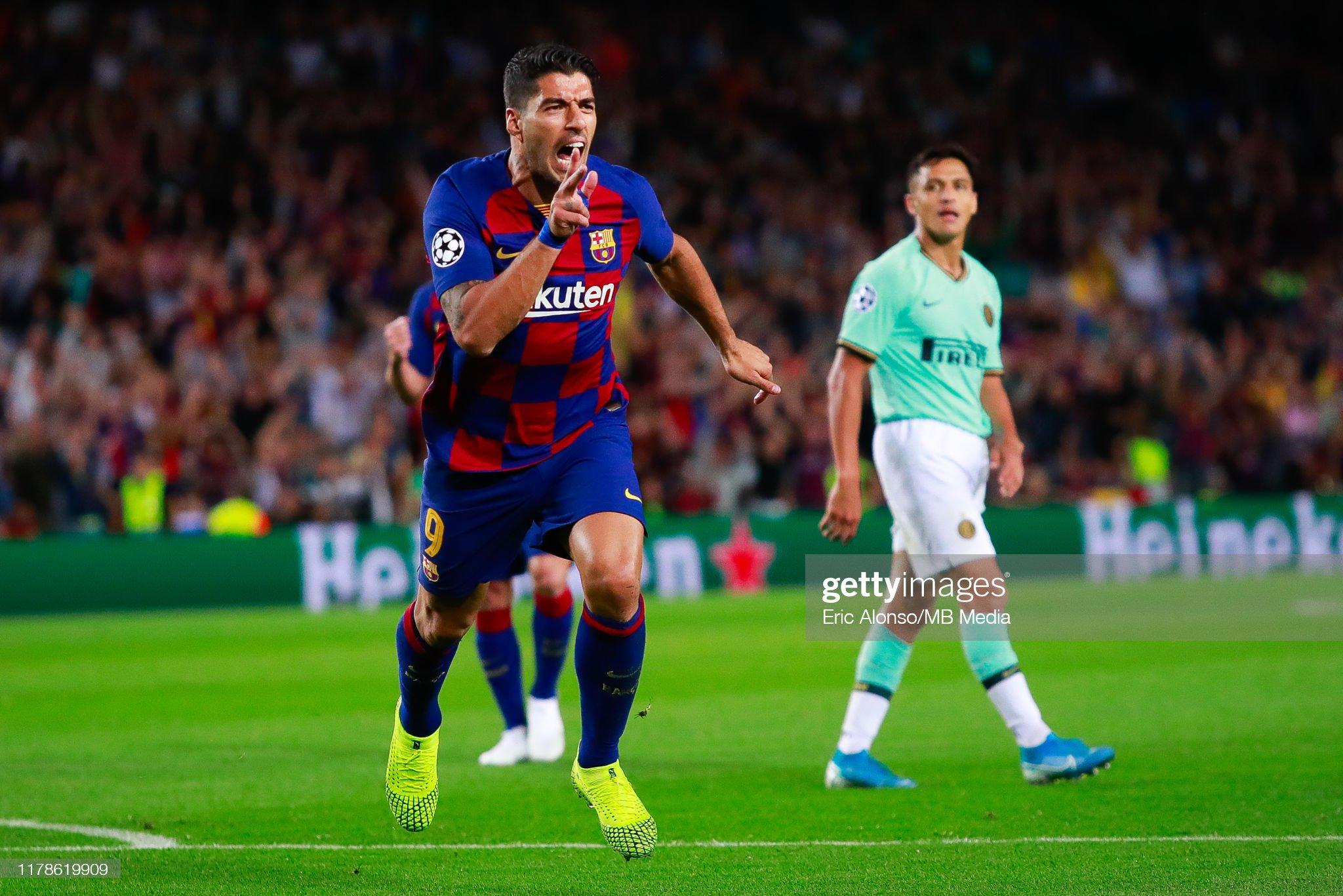 صور مباراة : برشلونة - إنتر 2-1 ( 02-10-2019 )  Luis-suarez-of-fc-barcelona-celebrates-scoring-his-sides-first-goal-picture-id1178619909?s=2048x2048