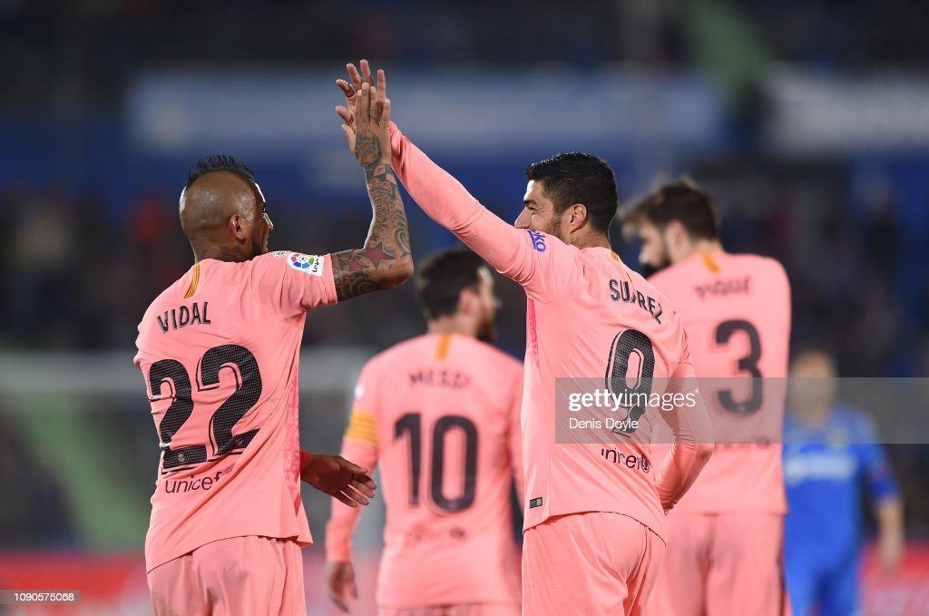 Getafe CF v FC Barcelona - La Liga : ニュース写真