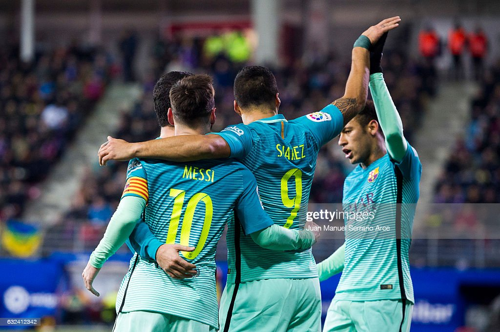 SD Eibar v FC Barcelona - La Liga : News Photo