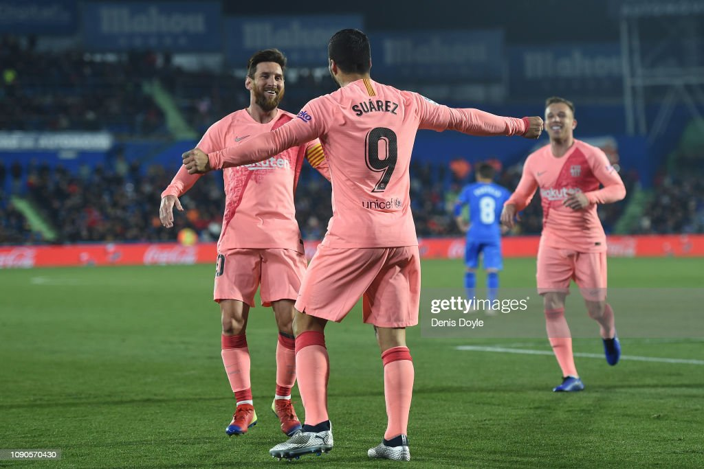 Getafe CF v FC Barcelona - La Liga : News Photo