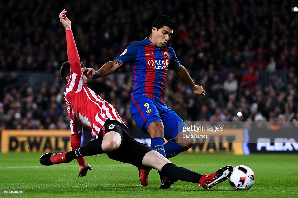 Barcelona v Athletic Club - Copa del Rey: Round of 16 Second Leg : News Photo