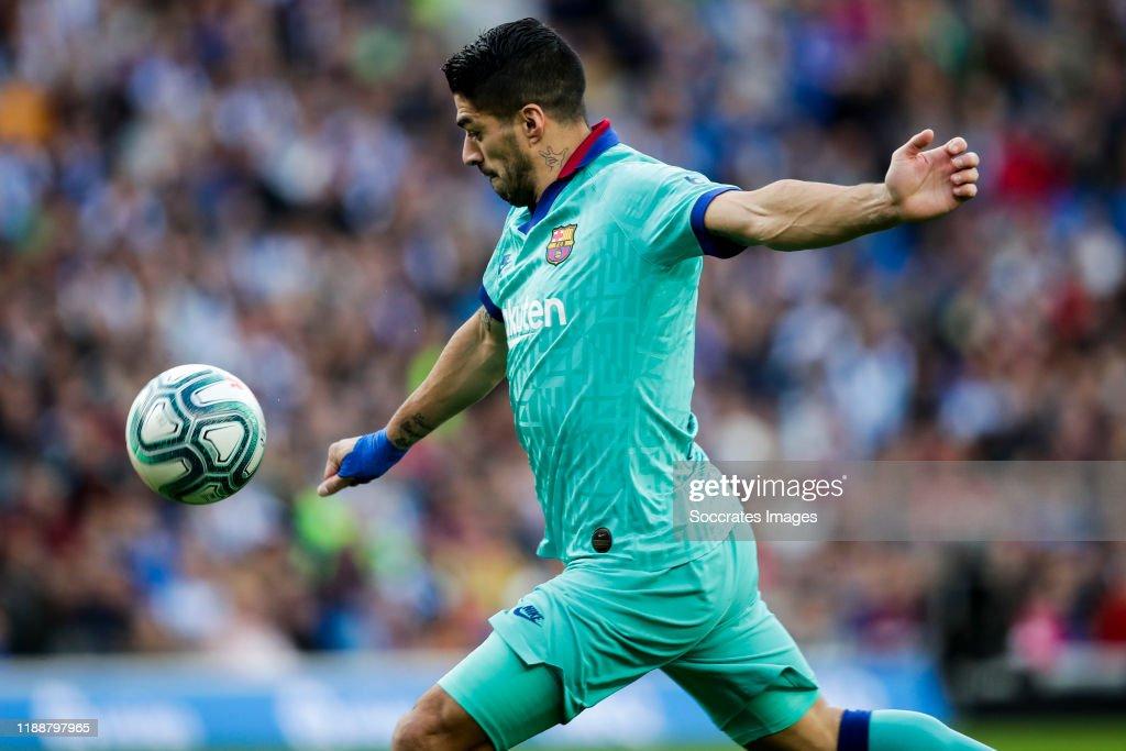 Real Sociedad v FC Barcelona - La Liga Santander : ニュース写真