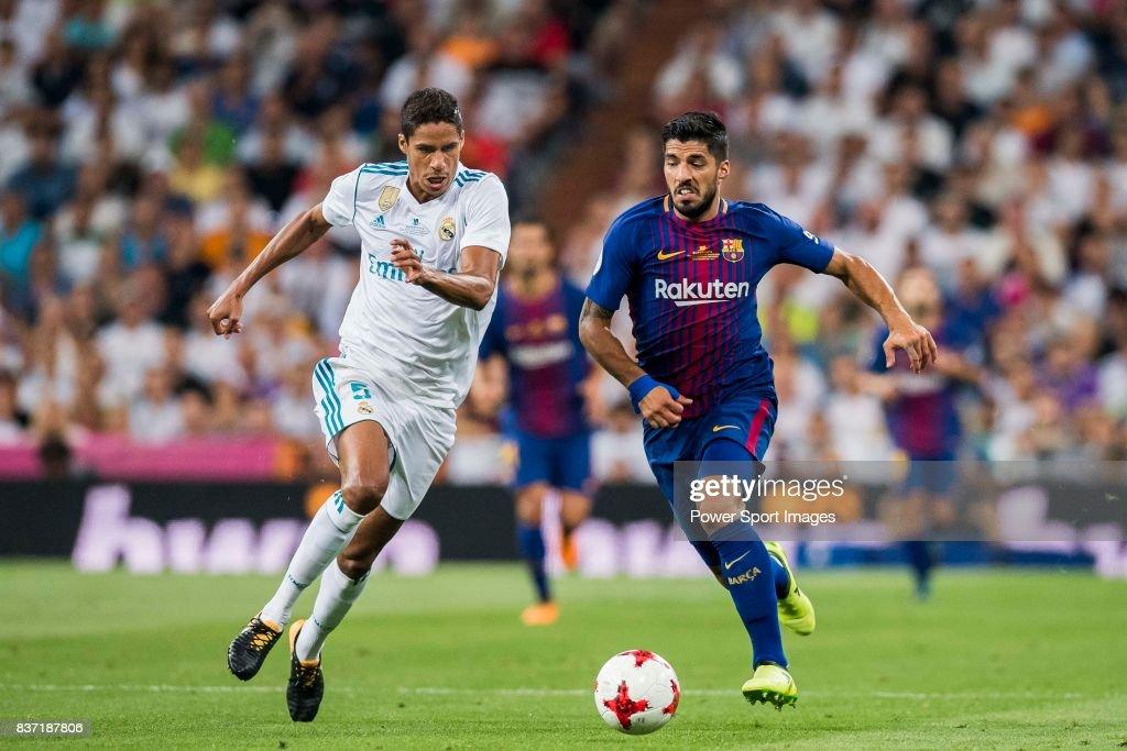 Supercopa de Espana Final 2nd Leg match - Real Madrid vs FC Barcelona : ニュース写真
