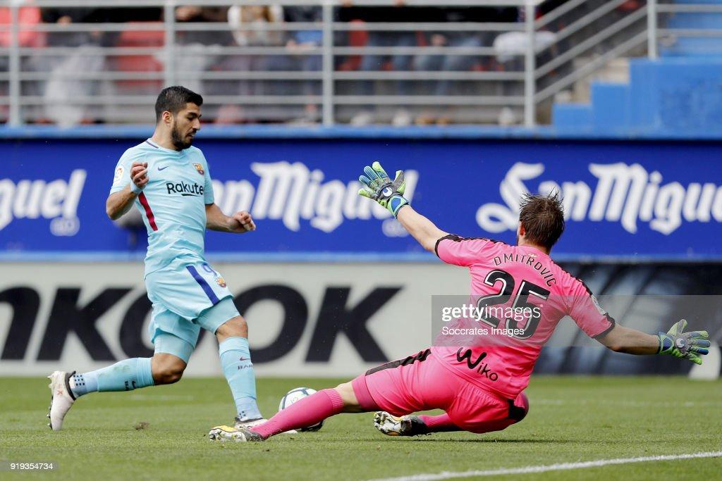 Eibar v FC Barcelona - La Liga Santander : Foto di attualità