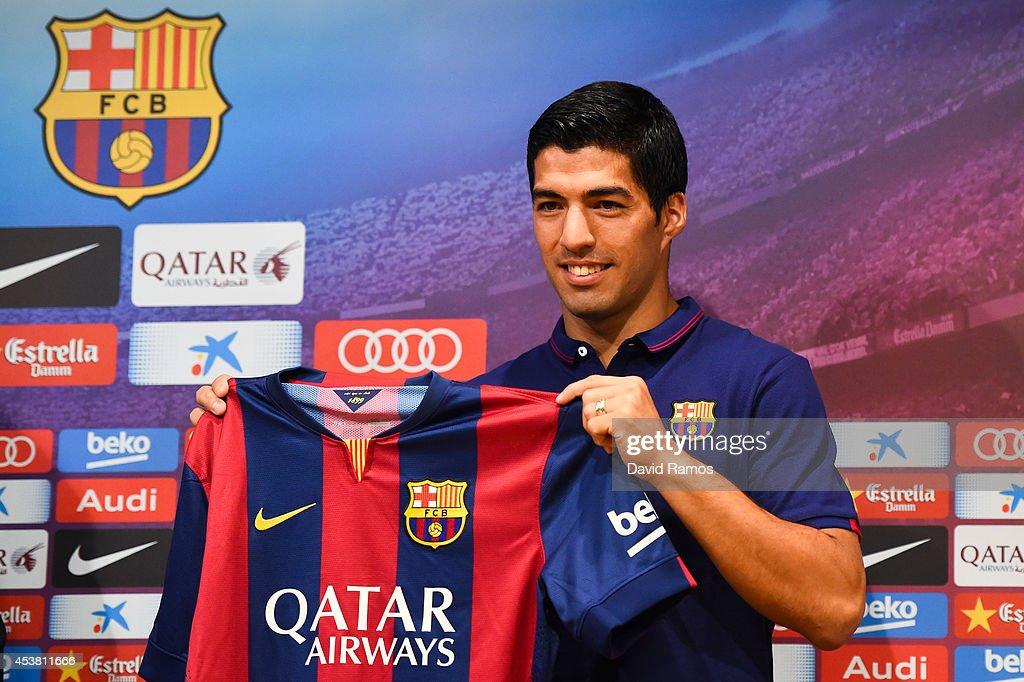 Luis Suarez FC Barcelona Media Access : ニュース写真