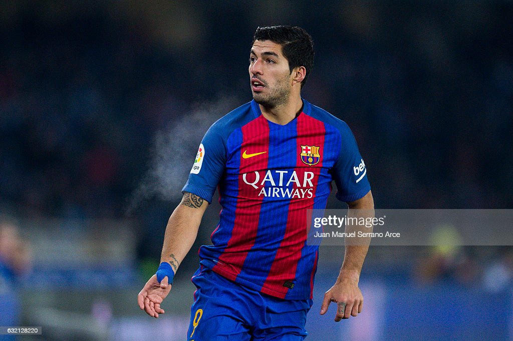 Real Sociedad v FC Barcelona - Copa Del Rey Quarter-final: First Leg : News Photo