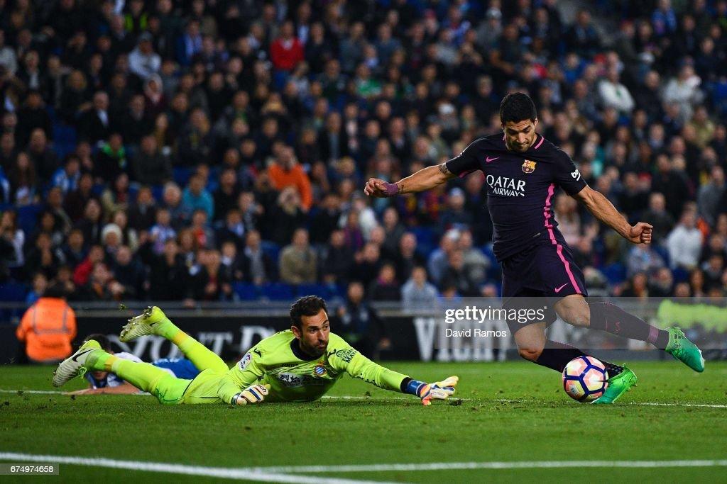 RCD Espanyol v FC Barcelona - La Liga : Nieuwsfoto's
