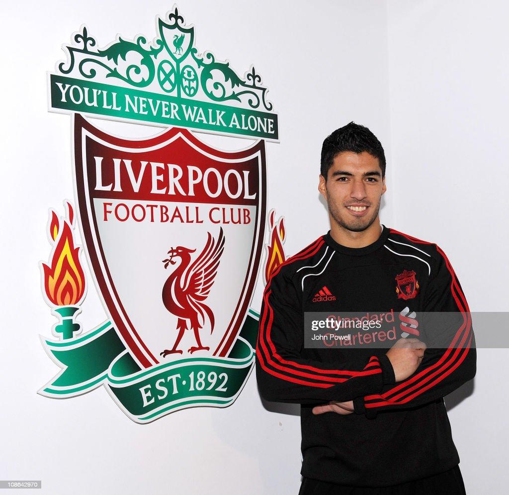 Luis Suarez Signs For Liverpool FC : News Photo