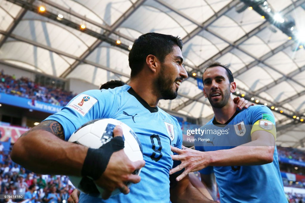 Uruguay v Saudi Arabia: Group A - 2018 FIFA World Cup Russia : News Photo