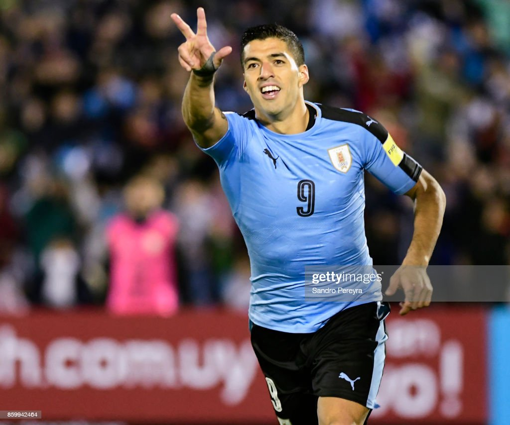 Uruguay v Bolivia - FIFA 2018 World Cup Qualifiers : News Photo