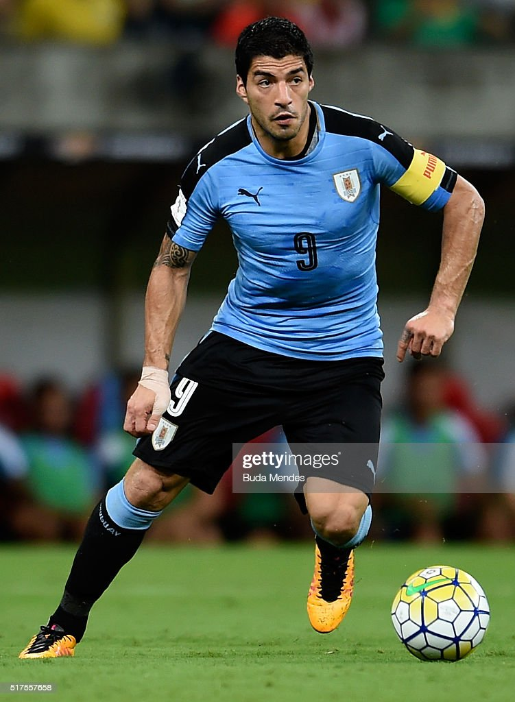 Brazil v Uruguay - 2018 FIFA World Cup Russia Qualifiers : News Photo