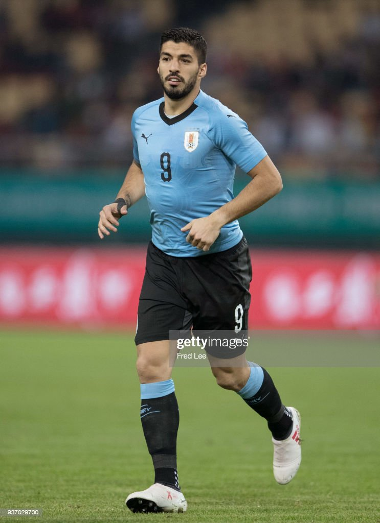 Uruguay v Czech Republic Republic- 2018 China Cup International Football Championship : News Photo