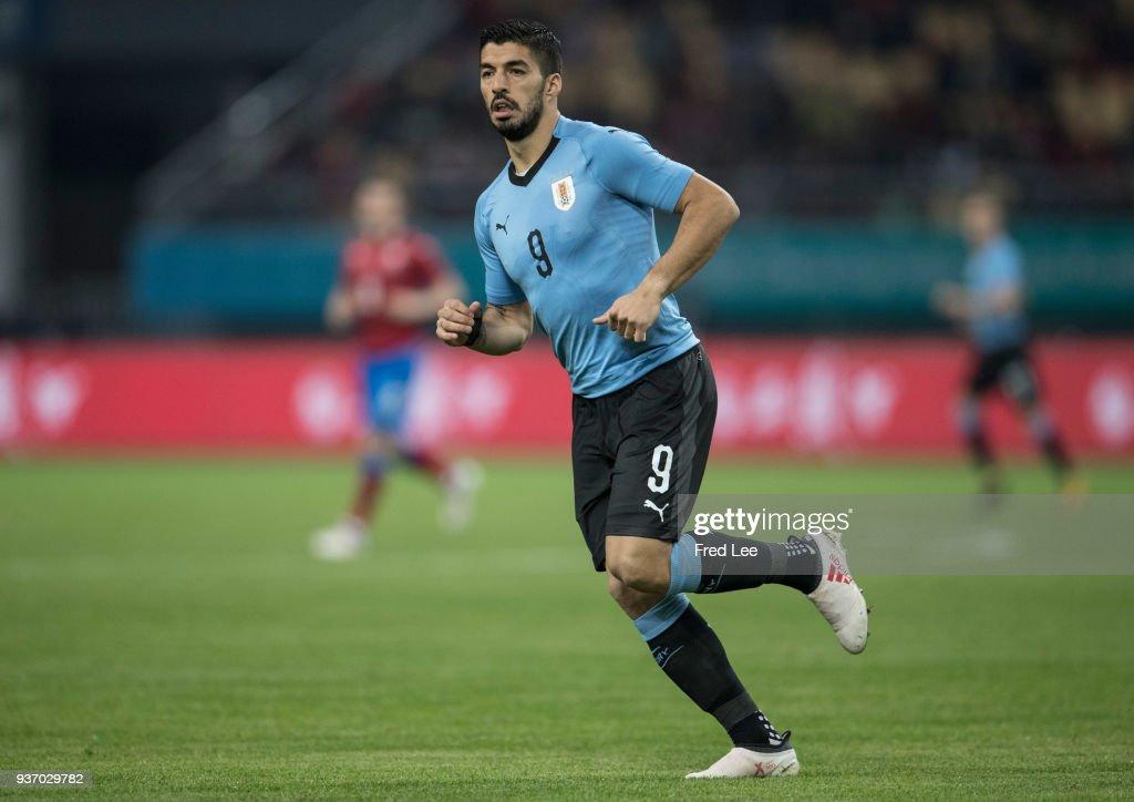 Uruguay v Czech Republic Republic- 2018 China Cup International Football Championship : Nachrichtenfoto
