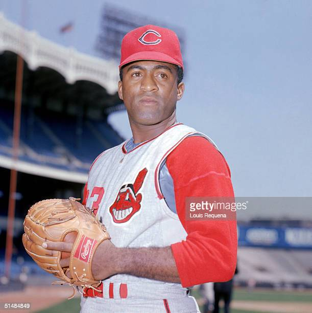 Luis Tiant of the Cleveland Indians poses for a portrait circa 1964-1969.