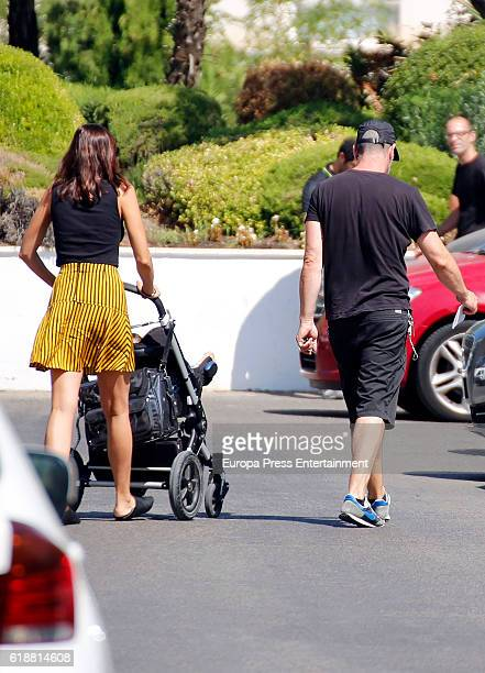 Luis Tosar and Maria Luisa Mayol are seen on September 2 2016 in Madrid Spain