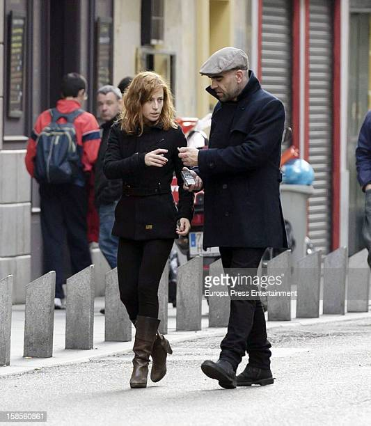Luis Tosar and Marta Etura are seen on November 20 2012 in Madrid Spain