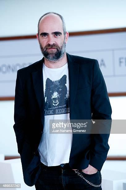 Luis Tosar attends 'El desconocido' photocall during 63rd San Sebastian Film Festival at Kursaal on September 22 2015 in San Sebastian Spain