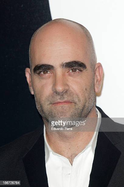 Luis Tosar attends GQ Men of the year awards photocall at Palace hotel on November 19 2012 in Madrid Spain