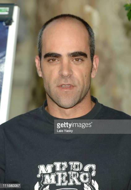 Luis Tosar during 'Miami Vice' Madrid Photocall August 30 2006 at Ritz Hotel in Madrid Spain