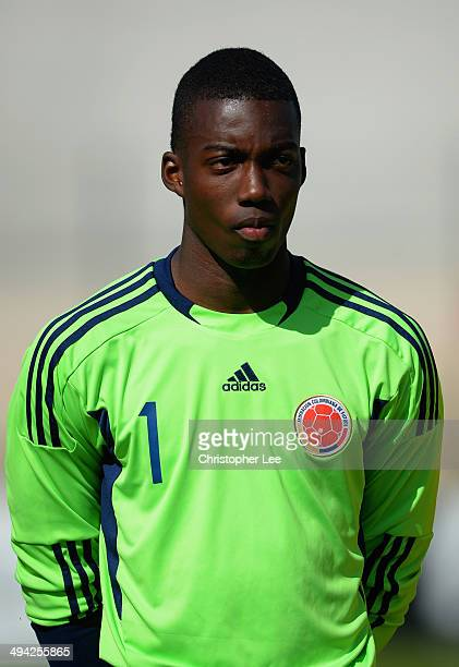 Luis Vazquez of Colombia during the Toulon Tournament Group B match between Colombia and Qatar at the Stade De Lattre on May 28, 2014 in Aubagne,...