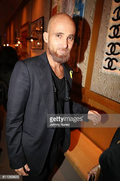 Luis Vidal attends 2nd Annual Artz Cure Sarcoma Benefit Auction at Corkbuzz Restaurant Wine Bar on September 28 2016 in New York City