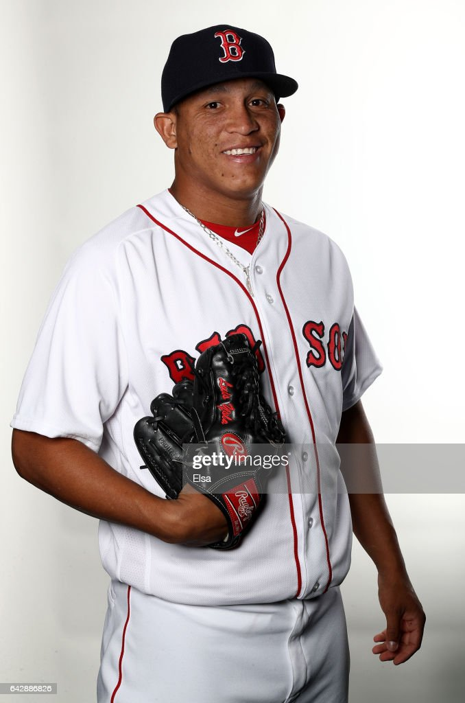 Luis Ysla #78 of the Boston Red Sox poses for a portrait during the Boston Red Sox photo day on February 19, 2017 at JetBlue Park in Ft. Myers, Florida.