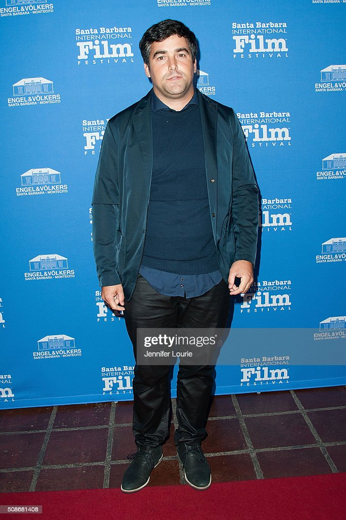 Luis Zorranquin arrives at the presentation of the American Riviera Award at the 31st Santa Barbara International Film Festival at the Arlington Theatre on February 5, 2016 in Santa Barbara, California.