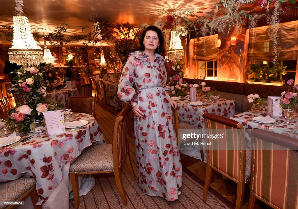 Luisa Beccaria attends the Luisa Beccaria and Robin Birley event celebrating Sicilian lifestyle, music and fashion at 'Upstairs', at 5 Hertford Street on March 14, 2017 in London, England.