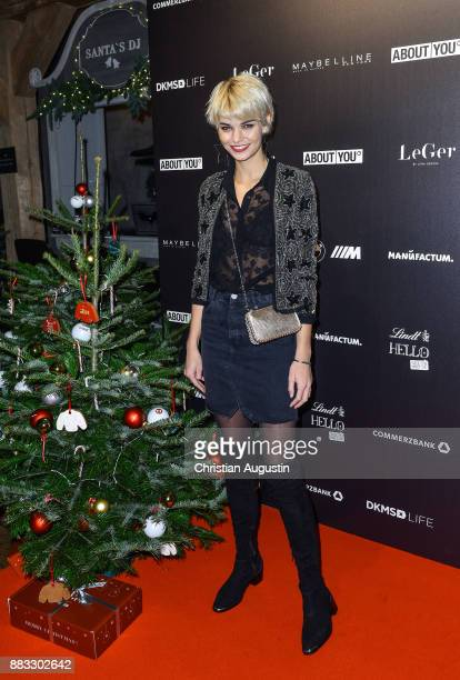 Luisa Hartema attends her Christmas Dinner Party at the Bar Hygge on November 30, 2017 in Hamburg, Germany.