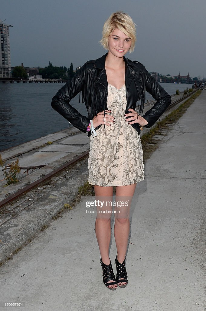 Luisa Hartema attends the ' Audi Urban Cinema ' on June 20, 2013 in Berlin, Germany.