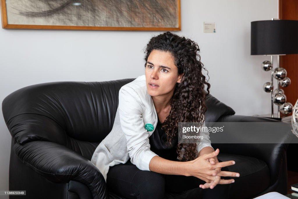 MEX: Mexico's Labor Minister Luisa Maria Alcalde Interview