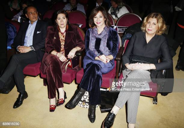 Luisa Martin and Ana Rosa Quintana attend the 'La Princesa Paca' photocall at Ateneo on February 15 2017 in Madrid Spain