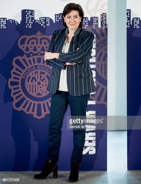 Luisa Martin attends a Servir y Proteger photocall on March 31 2017 in Burgos Spain