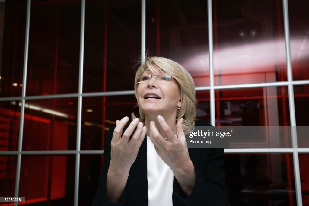 Venezuela's Exiled Former Prosecutor Luisa Ortega Interview : News Photo