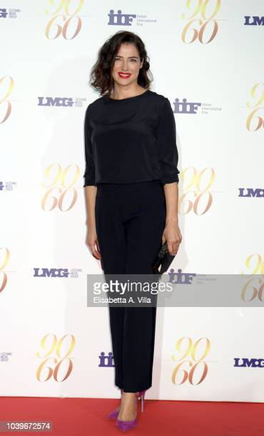 """Luisa Ranieri attends """"Fulvio Lucisano - Sotto Il Segno Del Cinema"""" event at Maxxi Museum on September 24, 2018 in Rome, Italy."""