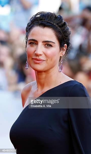 Luisa Ranieri attends the Closing Ceremony of the 71st Venice Film Festival on September 6 2014 in Venice Italy
