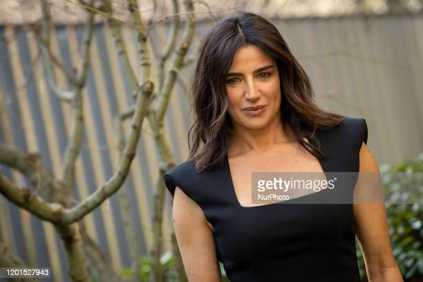 Luisa Ranieri attends the photocall of the new Fiction TV '' La Vita Promessa'' second season on February 17 2020 in Rome Italy
