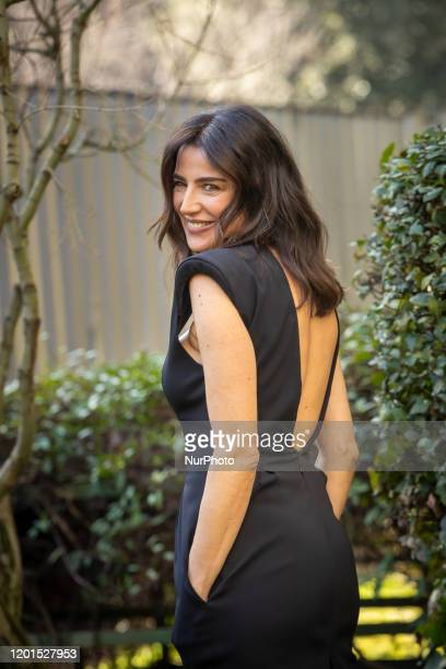 Luisa Ranieri attends the photocall of the new Fiction TV '' La Vita Promessa'' second season on February 17, 2020 in Rome, Italy.