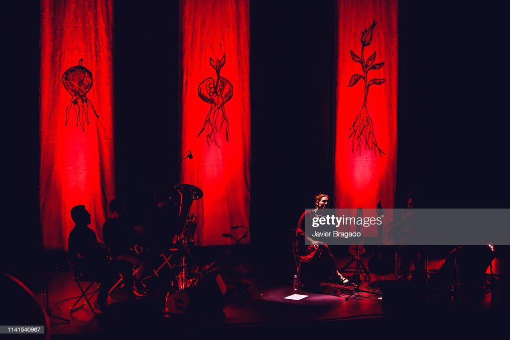 ESP: Luisa Sobral Performs In Concert In Madrid