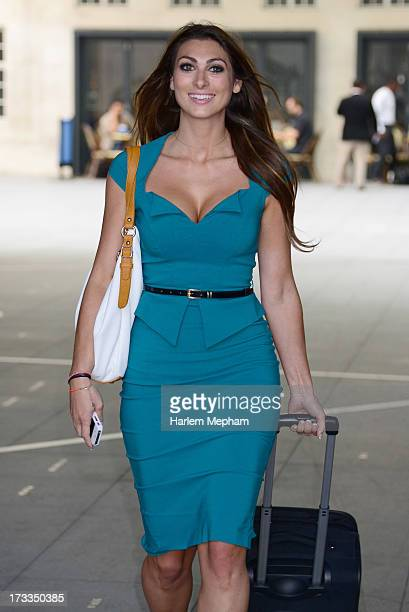 Luisa Zissman a contestant and finalist of the apprentice sighted at BBC Radio on July 12 2013 in London England