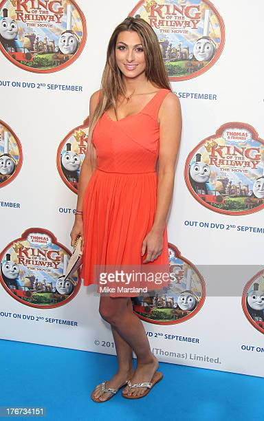 Luisa Zissman attends VIP Screening of Thomas & Friends: King Of The Railway at Vue Leicester Square on August 18, 2013 in London, England.