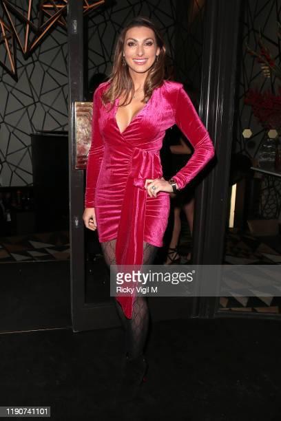 Luisa Zissman seen attending Style Cheat dinner at Quaglino's on November 28 2019 in London England