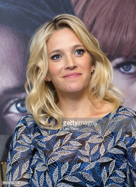 Luisana Lopilato attends a press conference for 'Perdidas' at the Intecontinental Hotel on April 12 2018 in Buenos Aires Argentina